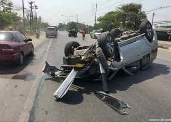 Chiang Mai : 10 % des victimes de la route sont des étrangers