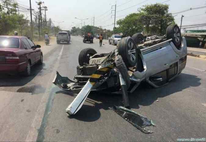 Dans la province de Chiang Mai, 10 % des victimes d'accidents de la route sont des étrangers