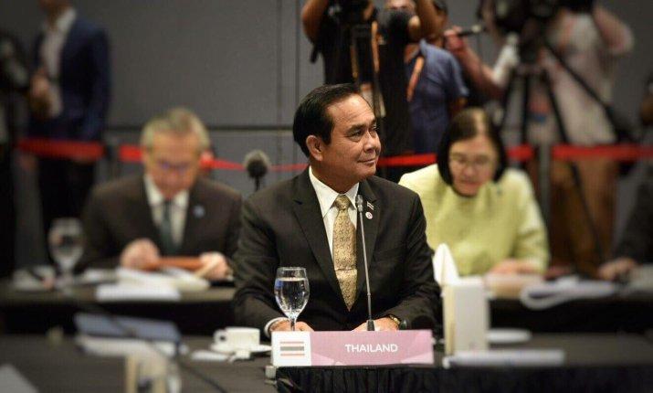 Le Premier Ministre thaïlandais Prayut Chan-o-cha a laissé plané le doute quant à ses intentions pour les prochaines élections
