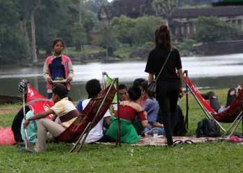 Le Cambodge interdit la nourriture à l'intérieur du complexe d'Angkor