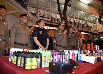 Cigarette électronique en Thaïlande : nouveaux raids contre des vendeurs, les touristes mis en garde