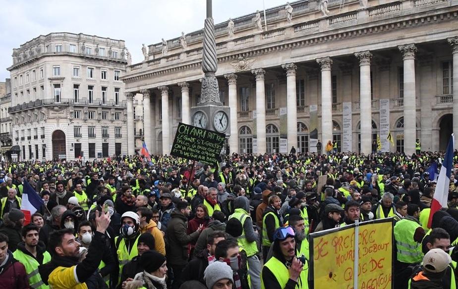 Gilets jaunes : mobilisation en baisse pour l'acte XVII