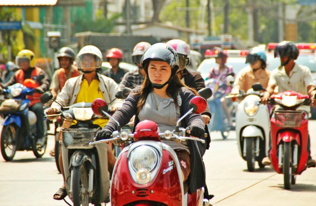 Le marché thaïlandais des deux-roues devrait se contracter cette année