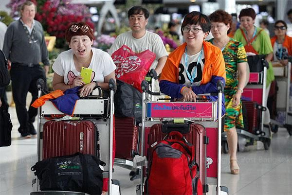 Les touristes chinois de retour en Thaïlande