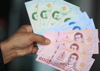 Le baht thaïlandais atteint son plus bas niveau depuis janvier face au dollar