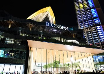 Bangkok : le centre commercial Iconsiam remporte le prix du meilleur design
