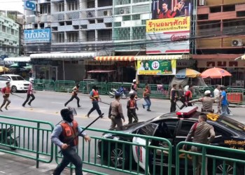 Bangkok : deux morts et deux blessés au cours d'une violente rixe entre moto-taxis