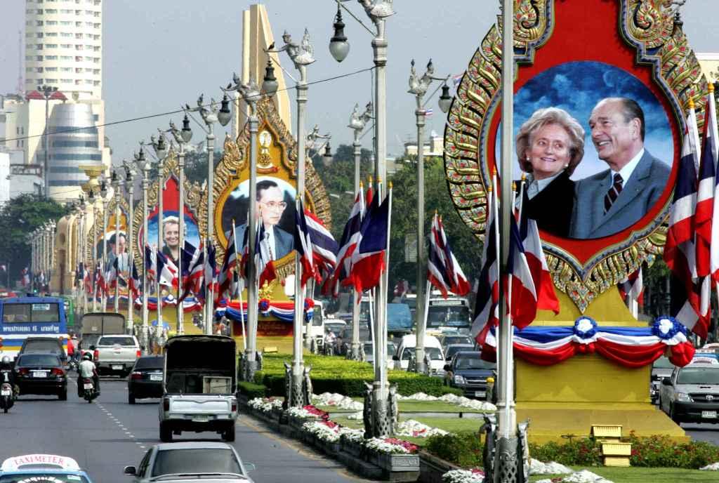 Décès de Jacques Chirac : message de condoléances du gouvernement thaïlandais