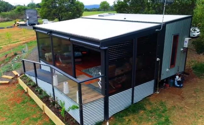 A Tiny House Designed To Be Elderly Disability Mobility
