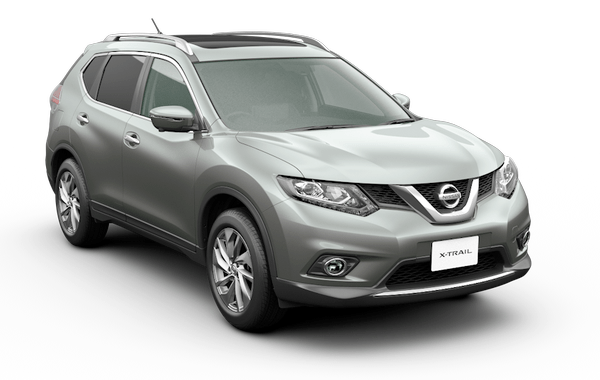 nissan x-trail brilliant silver