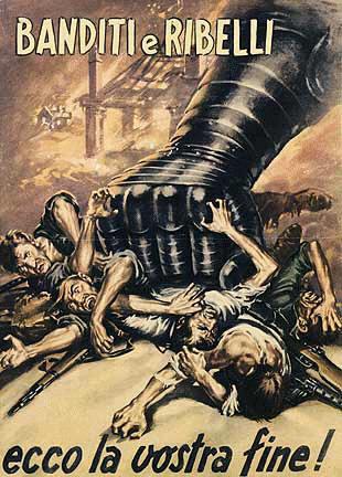 La violenza durante il Fascismo  appiccicaticcio