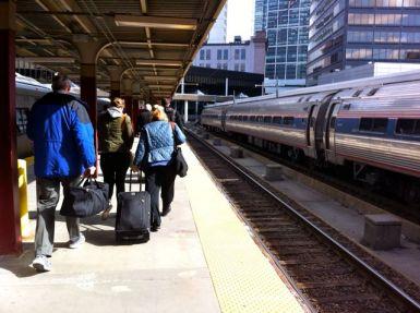 Boston Train Station