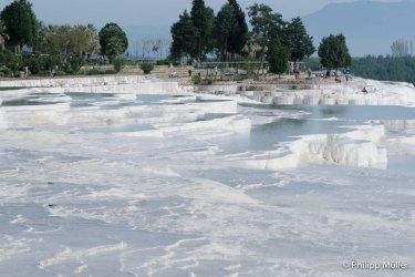 Calcium Carbonate Terraces - Pamukkale