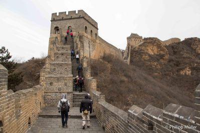 Muralha da China em Jinshanling