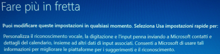 Windows 10 - Fare più in fretta