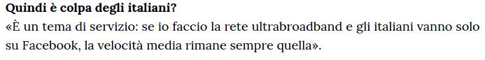 Facebook (La Stampa)