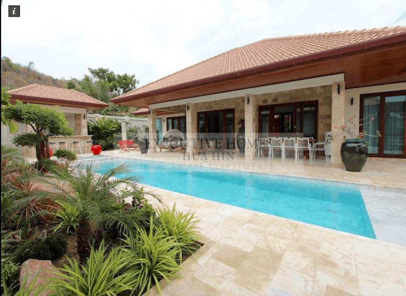 Custom Modern Bali Style Homes For Sale In Hua Hin & Pranburi