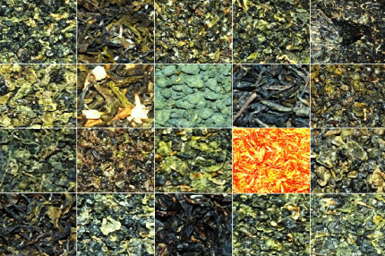 Thai teas assortment: 20 teas from north Thailand