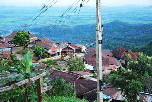 Doi Tung, Akha hill tribe village near the Royal Development Project center
