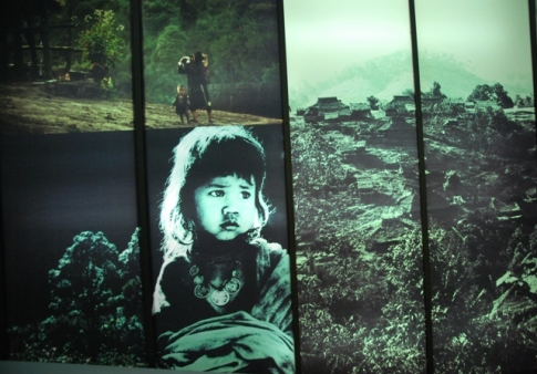 Royal Development Project Doi Tung, north Thailand, Hall of Inspiration: Exponat (excerpt)