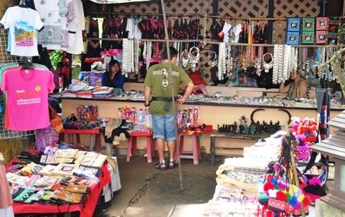 Doi Tung, North Thailand, Hilltribe Bazar: jewellery, handicrafts and souvenirs