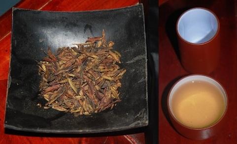 Loose leaf Yunnan sheng Pu Erh tea