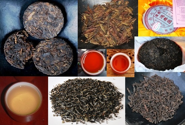 Pu Erh Tee Collage