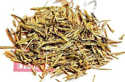 """Anji Bia Cha Green Tea / """"Anji White Tea"""" - Dry tea leaves"""