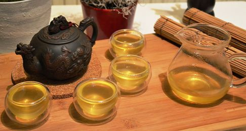 Organic Japanese Sencha Green Tea (unshaded)