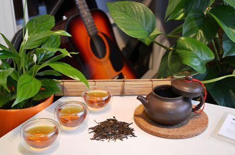 Organic Houjicha (roasted) green tea from Japan