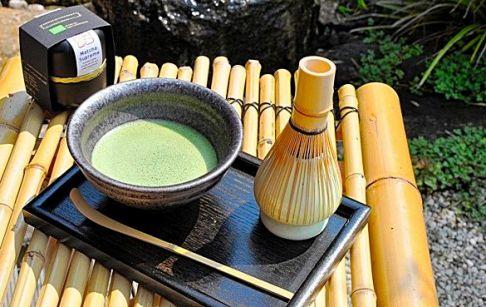 Japanese Matcha Tea prepared