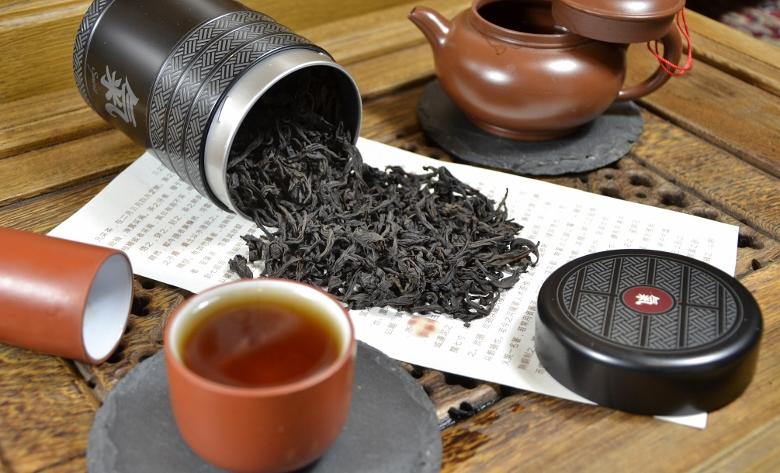 Imperial grade Rou Gui Wuyi Rock Oolong tea from Zhengshan area