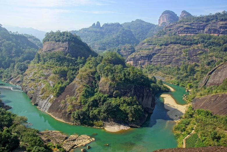 Nine Bends River, Wuyishan, Fujian Province, China