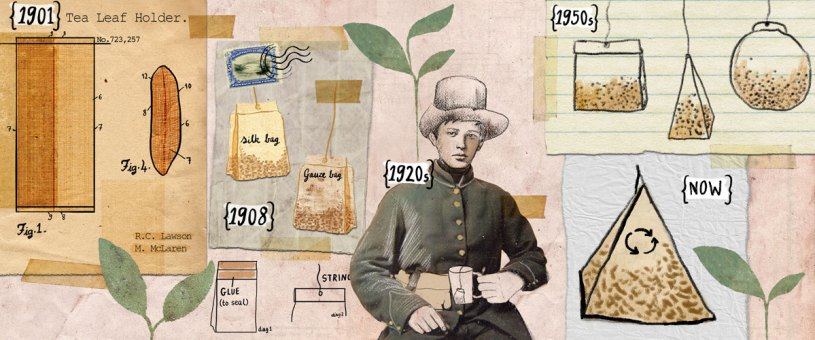 Invention and development of the tea bag