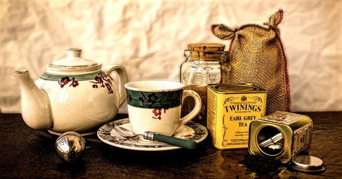 Western tea culture