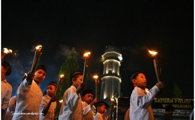 Foto Foto Pawai Takbiran Idul Adha 1433 H Sianakdesa