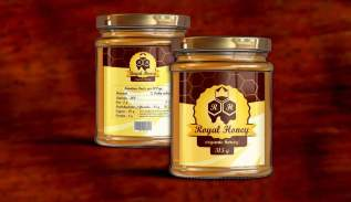 Etichete adezive borcan miere