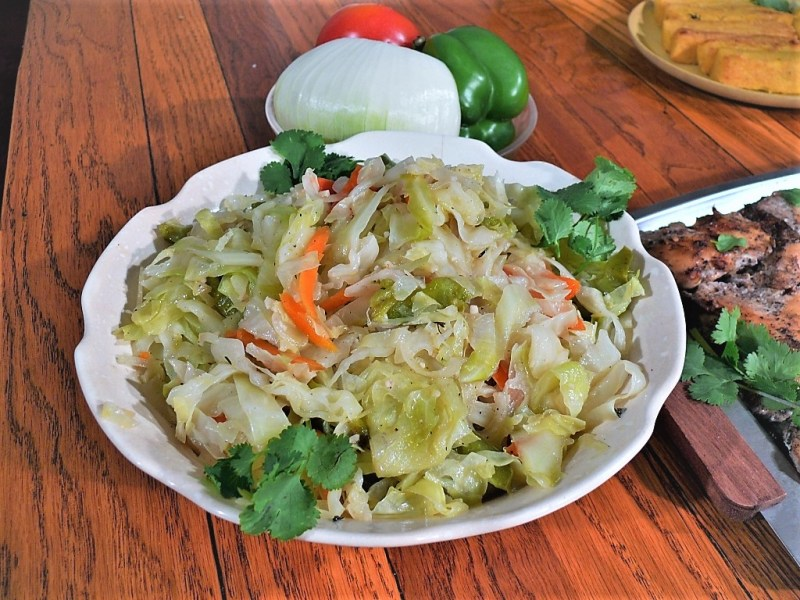 Steamed Cabbage (Vegetables) Recipe