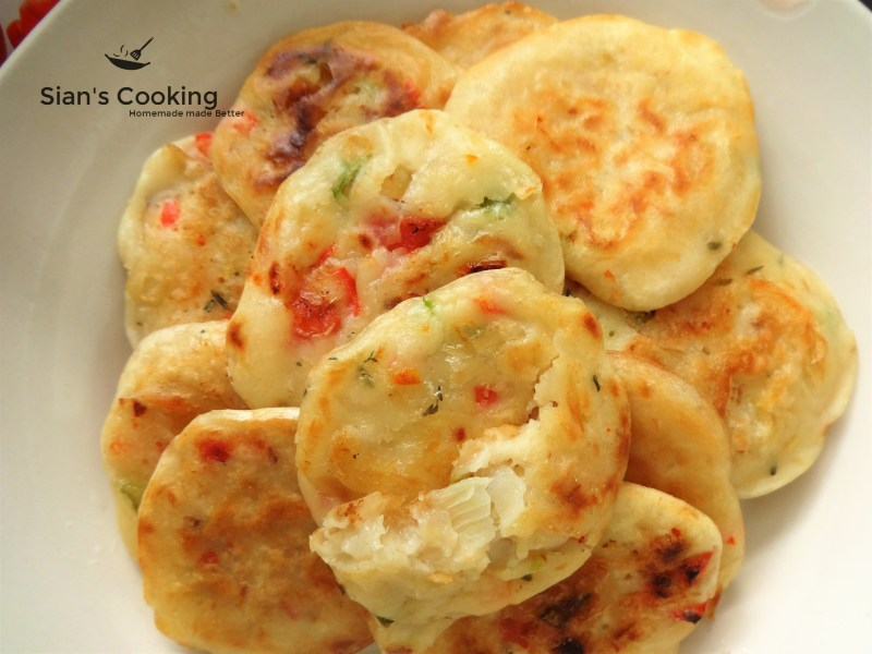 Saltfish Fritters Recipe (Stamp n' Go)