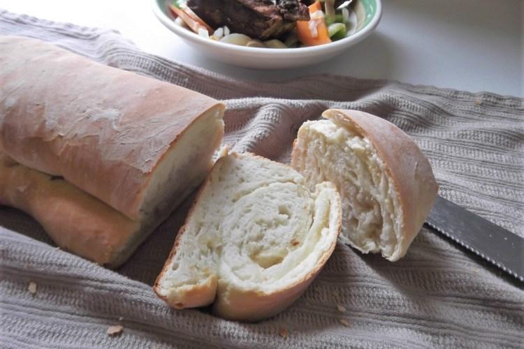 Jamaican hardough bread with fried fish