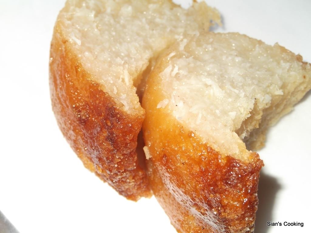 slices of Cassava Pone