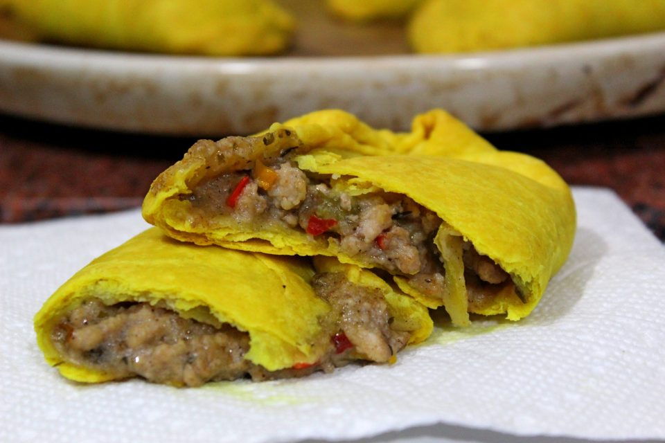 Jamaican Chicken Patty