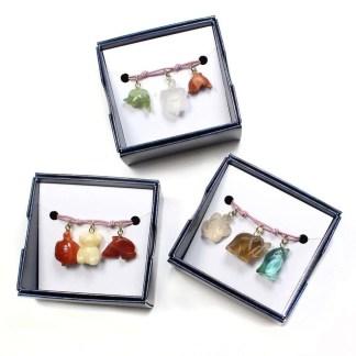 Bangle boxed charm sets
