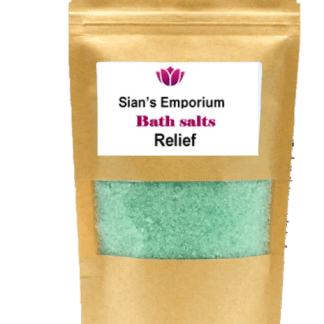 Bath salts relief
