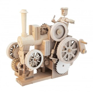 Unpainted Traction engine