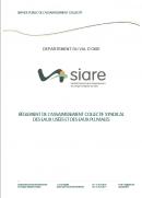 Règlement de l'assainissement collectif - SIARE - 2018