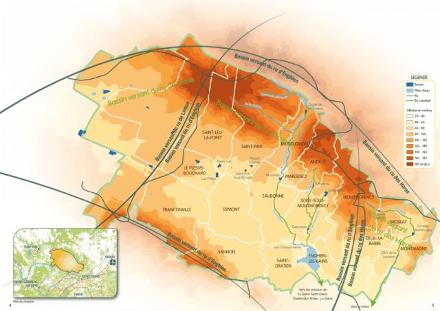 Le SIARE gère un vaste réseau d'assainissement