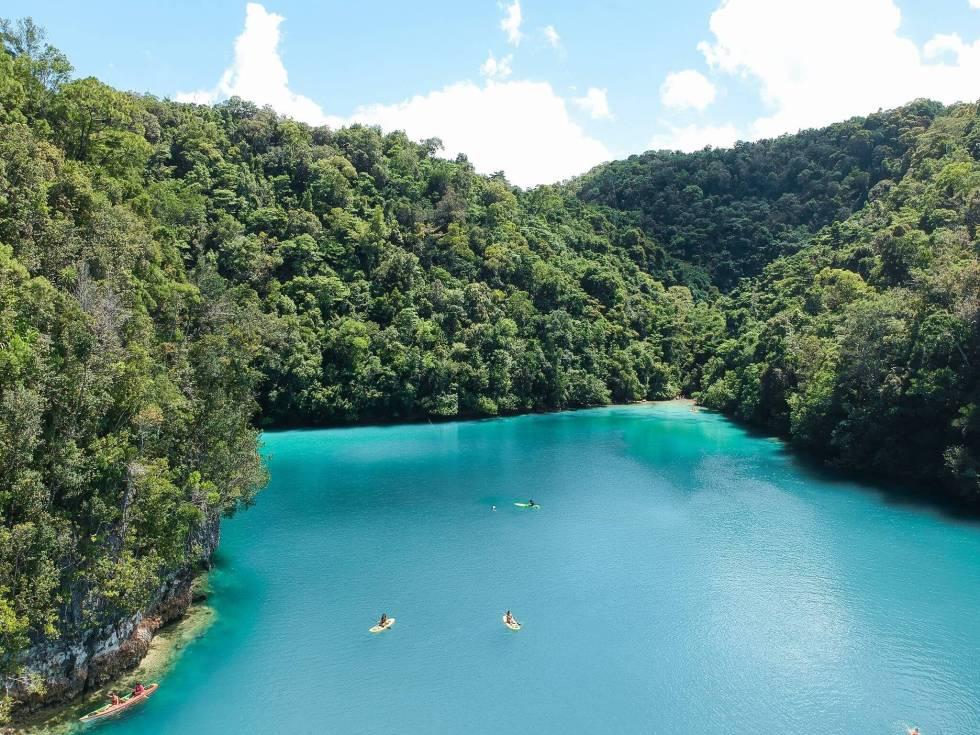 Sugba Lagoon-Magpupungko tour package
