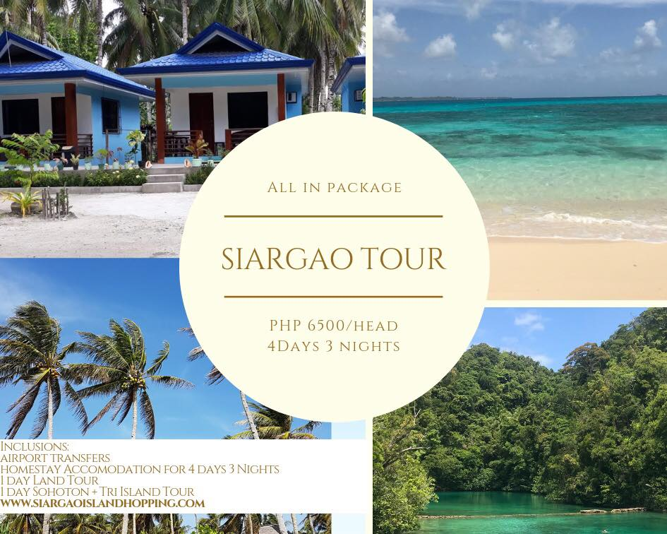 4D3N siargao tour package