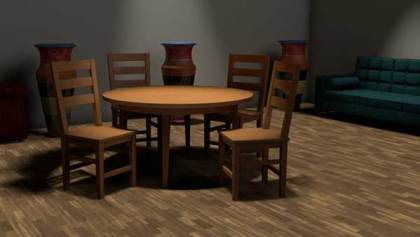 Table and Chairs setting